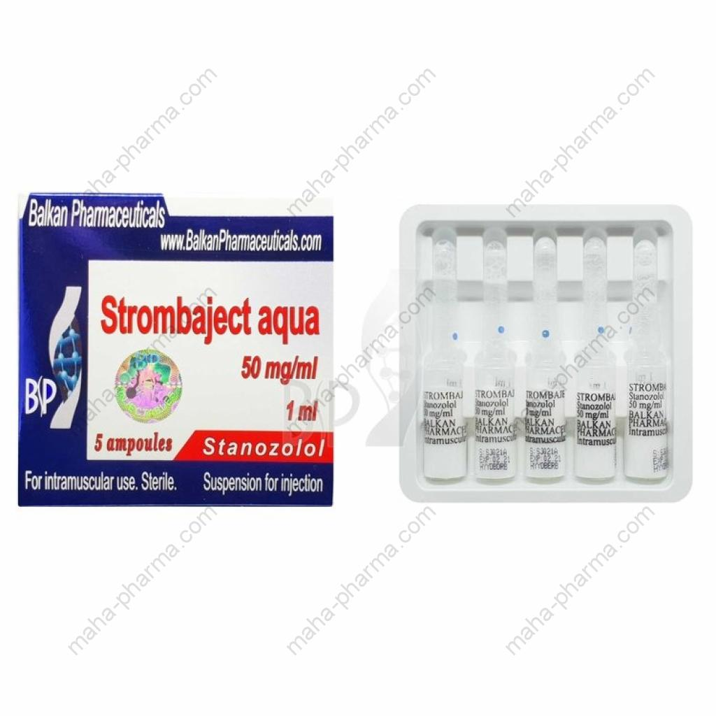 Strombaject Aqua (Balkan Pharmaceuticals) for Sale