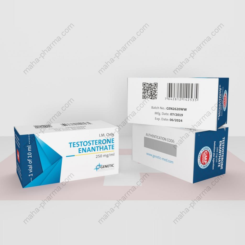 Testosterone Enanthate (Genetic Pharmaceuticals) for Sale