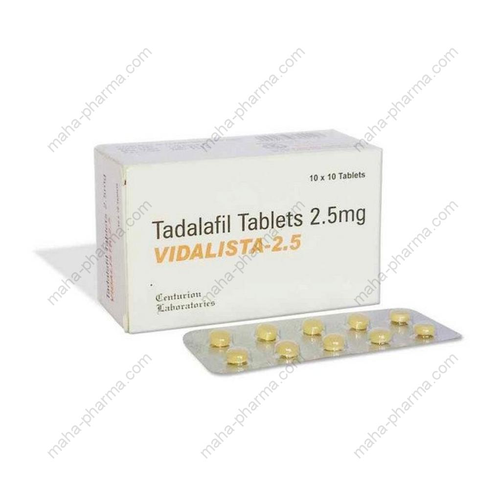 Vidalista-2.5 (Sexual Health) for Sale